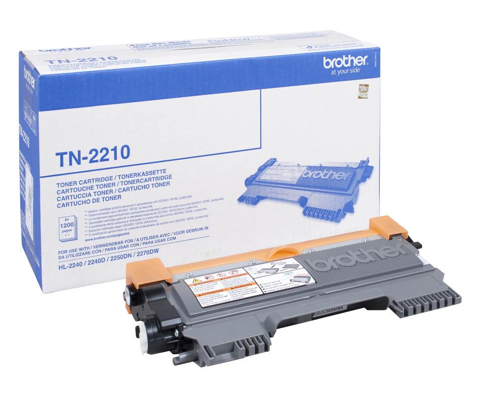 Toner Brother TN-2210 Black 1.2K Pgs