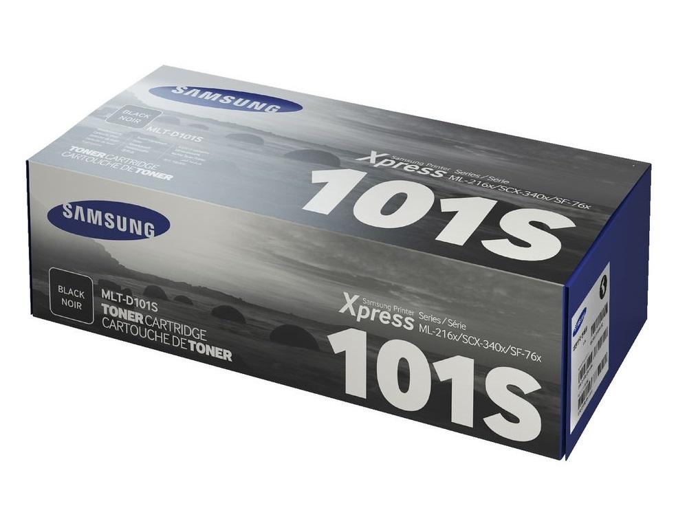 Toner Samsung MLT-D101S Black 1.5K Pgs (MLT-D101S)