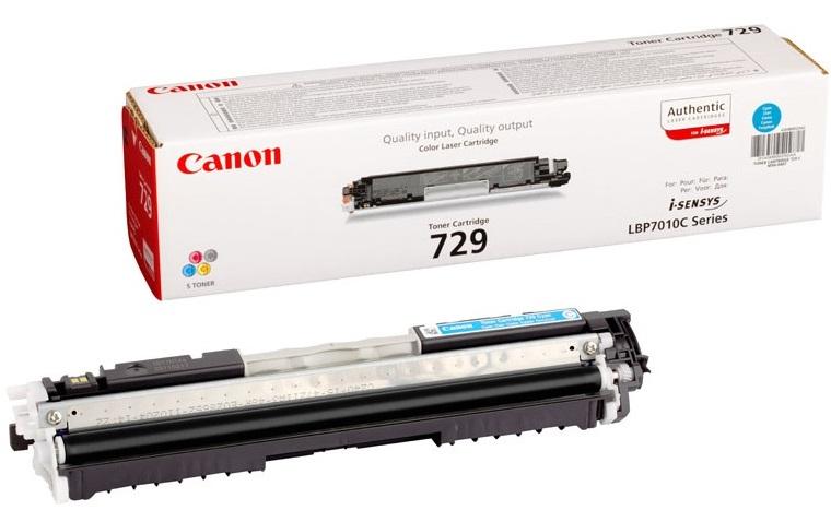 Toner Canon 729C Cyan 1K Pgs (4369B002)