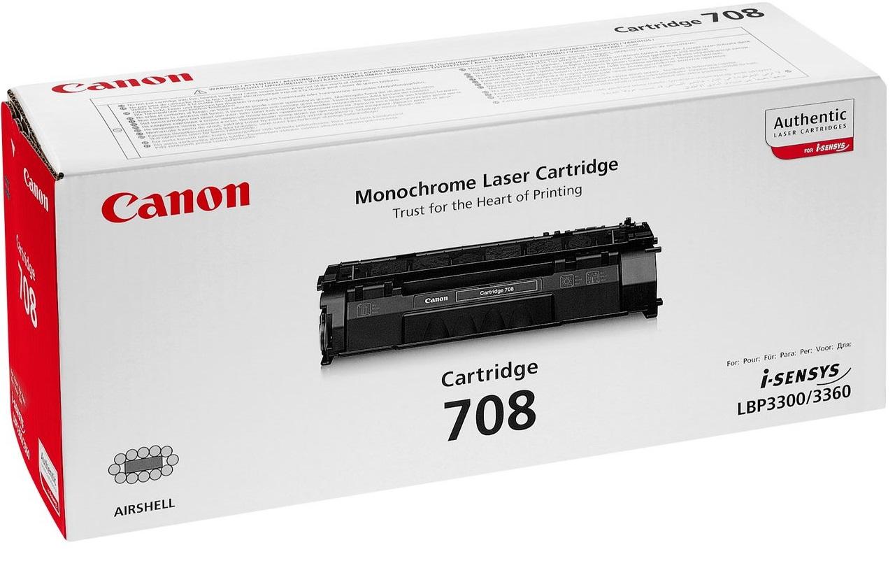Toner Canon 708 Black 2.5K Pgs (0266B002)