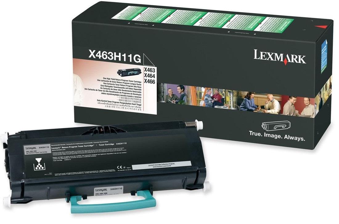 Toner Lexmark X463H11G Black 9K Pgs (X463H11G)