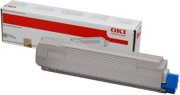 Toner Oki MC851 Yellow 7K Pgs (44059165)