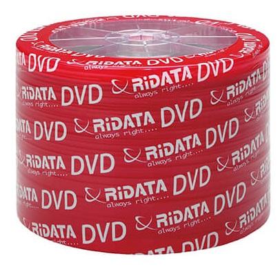 Ridata F.F Printable Glossy DVD-R 47 GB/120 min 16x 50 Τεμ.σε Ζελατίνα
