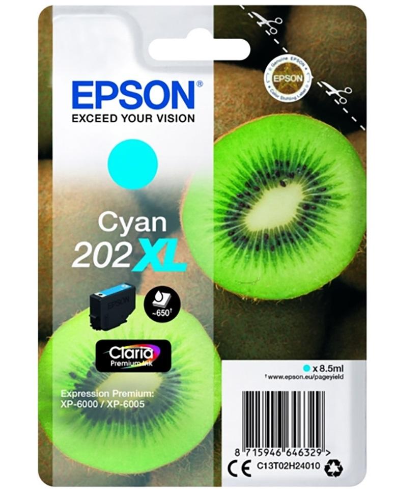 Μελάνι Epson 202XL Cyan (C13T02H24010)