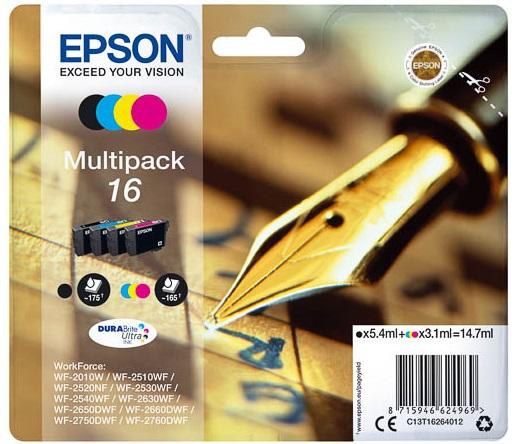 Μελάνι Epson 16 Multipack (C13T16264012)