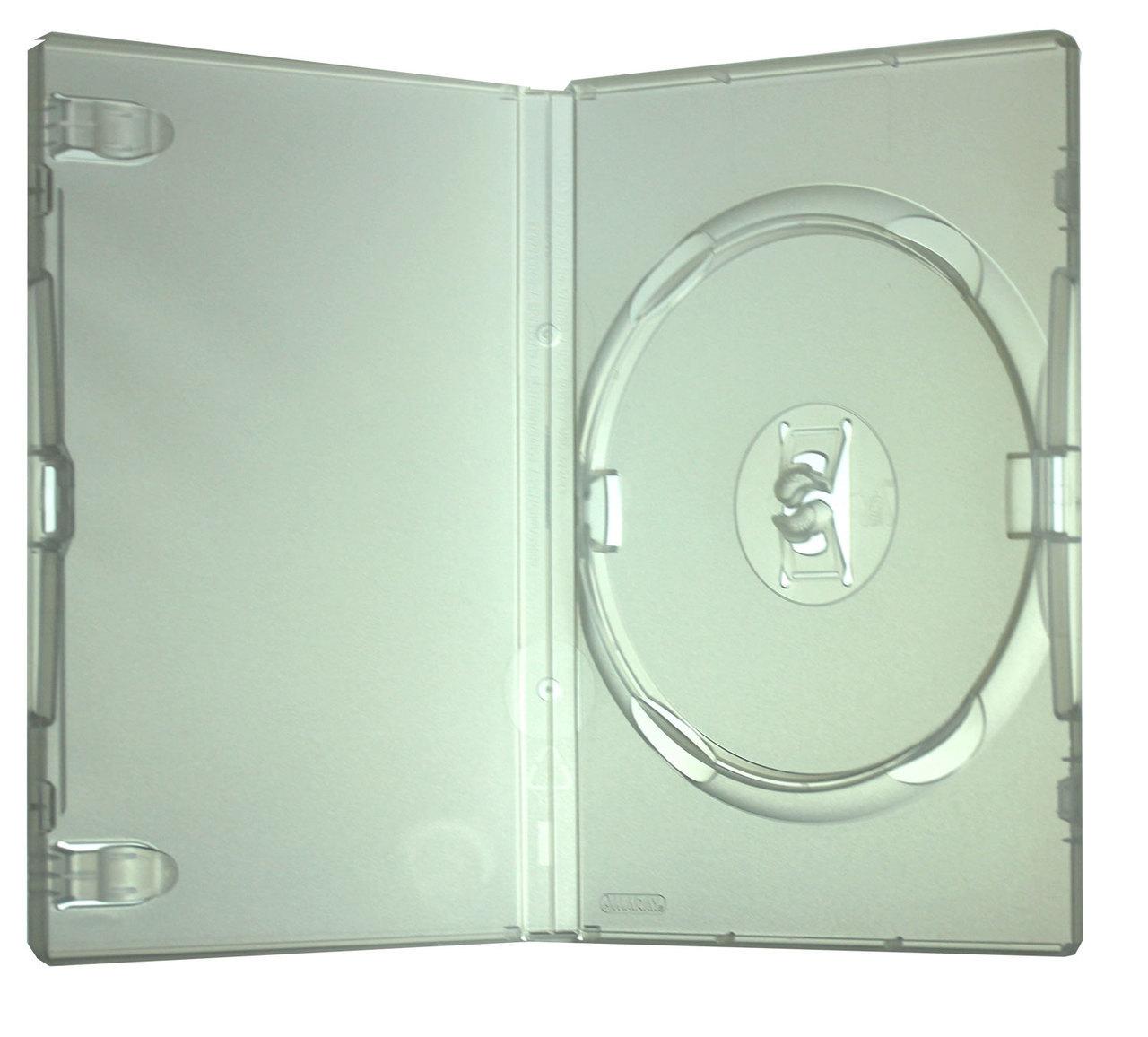 Θήκη DVD Μονή Λεπτή Διάφανης 7 mm