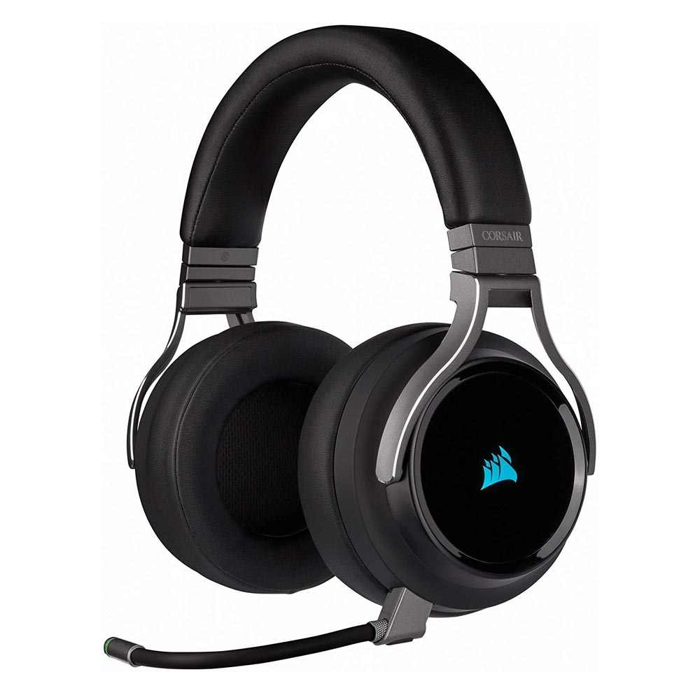 Gaming Headset Corsair Virtuoso Carbon RGB Wireless (CA-9011185-EU)