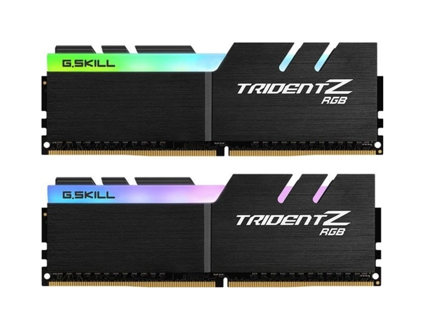 Μνήμη RAM G.Skill Trident Z RGB 16GB Kit (2x8GB) DDR4 3000MHz C16 (F4-3000C16D-16GTZR)