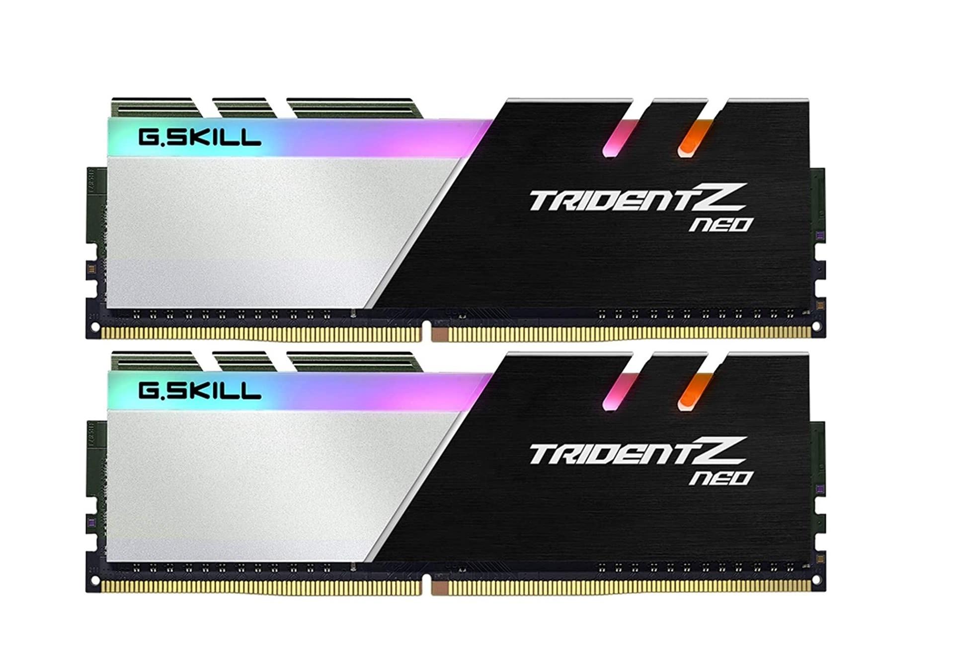 Μνήμη RAM G.Skill Trident Z Neo RGB 16GB Kit (2x8GB) DDR4 3600MHz C16 (F4-3200C16D-16GTZR)