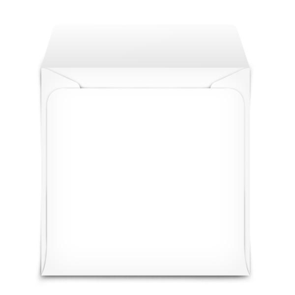 Θήκη CD/DVD Χάρτινη Λευκή Χωρίς Παράθυρο 100 Τεμ