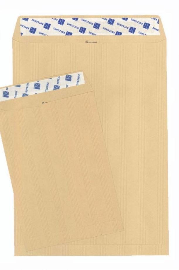 Φάκελος Αλληλογραφίας 90 g/m² Μπέζ με αυτοκόλλητο 25 x 353 cm 50 Τεμ.