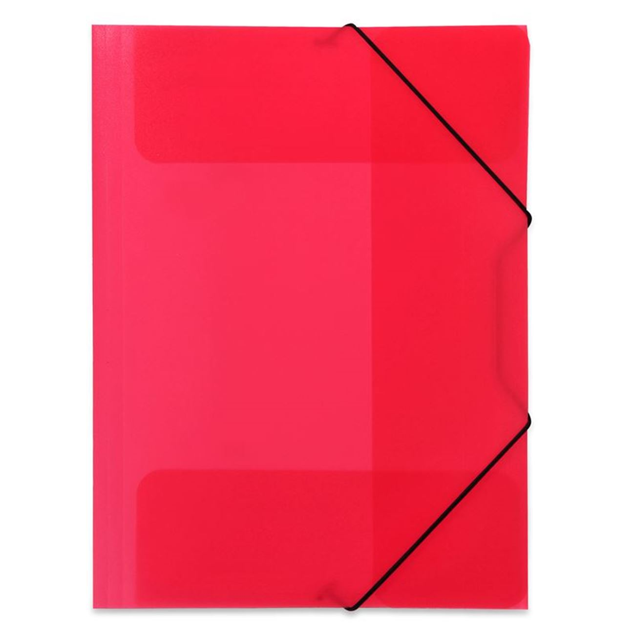 OfficeSpot Ντοσιέ με Λάστιχο Πλαστικό Κόκκινο