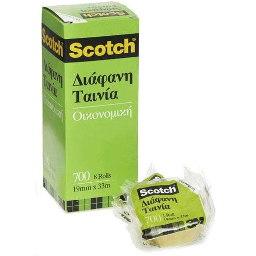 Scotch Κολλητική Ταινία 700 (Διάφανη)